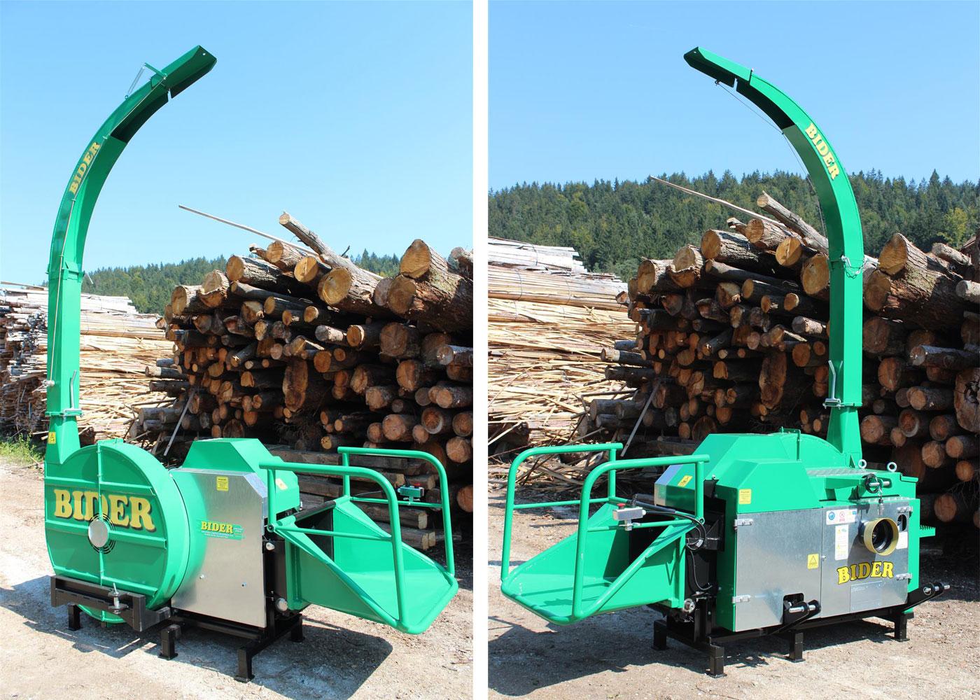 Traktorski sekalnik lesa BIDER TS 30