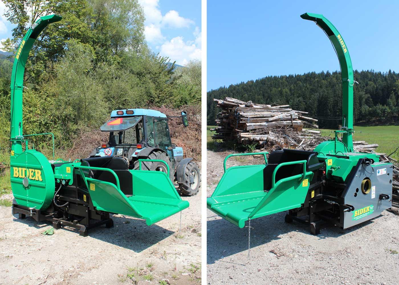 Traktorski sekalnik lesa BIDER TS 4535